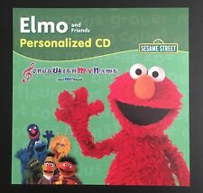 Elmo & Friends Personalized Album MP3 Digital Download - Child's Name 56 X's
