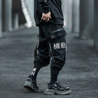 Niepce Industrial Movement Cargo Pants + Straps Asian Hip Hop Urban Streetwear