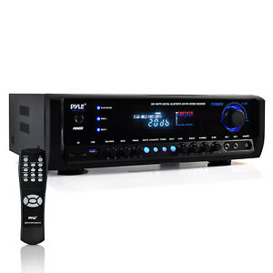 Pyle Home Bluetooth 4 Channel Radio Aux Stereo Receiver ( Refurbished)