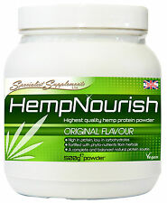 HempNourish Powder, High Quality Plant Protein From Hemp Plus 15 Superfoods.
