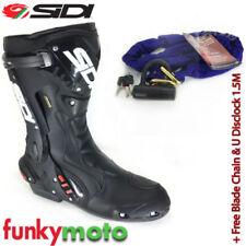 Bottes imperméable noir GORE-TEX pour motocyclette