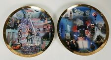 United We Stand & Let Freedom Ring Plate By The Danbury Mint, collectibles, 911