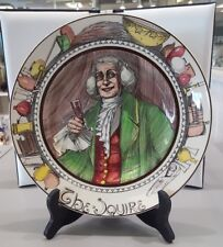 """Royal Doulton """"The Squire"""" English Collector Plate D-6284"""