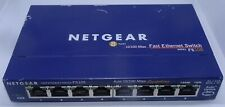 NETGEAR Fs108 8-port 10/100mb Unmanaged Ethernet Switch - No Power Supply