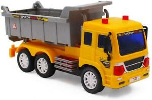 deAO Remote Control Dumper Truck Construction Vehicle with Light and Sounds
