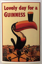 STICKER LOVELY DAY FOR A GUINNESS BEER BUMPER STICKER FREE POST