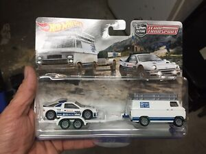 2021 HOTWHEELS TEAM TRANSPORT FORD RS 200 - BRAND NEW