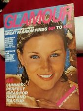 1976 JULY GLAMOUR MAGAZINE - DALE WESTON FRONT COVER - O 9520
