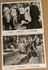 Elephant Walk lot 2 Original Movie Photos Peter Finch Dana Andrews 1954 funeral