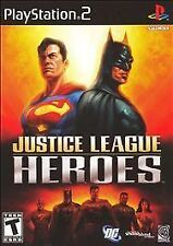 PS2 videogame: Justice League Heroes - tested - with warranty