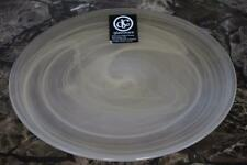 DC Glassware Gold Pearl Swirl Glass Salad Plates - Set of 6