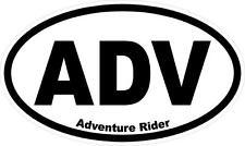 """#896 (2) 2"""" Adventure Rider KLR R1200GS ADV Decal Sticker Laminated"""