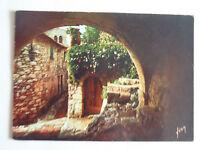 CPM La Côte d'Azur miracle de la nature Eze Vieilles rue et vieilles pierres