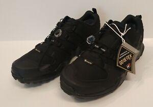 Men's adidas Terrex Swift R2 GTX Hiking Trail Black Waterproof Sz 10 CM7492
