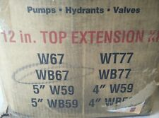 """Waterous K562 Traffic 12"""" Top Extension Kit for WB67 Hydrants, Pumps, Valves"""