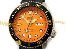 SEIKO SKX011 SKX011J1 Automatic 200m Diver NIB Made in Japan Orange !