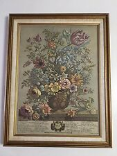 "BOMBAY COMPANY - FLORAL FLOWERS WALL ART MADE IN CANADA  MAY - 14"" X 18"""