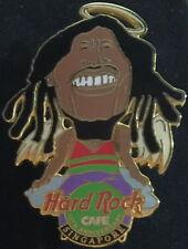 Hard Rock Cafe SINGAPORE 2000 10th Anniversary ROCK STAR PIN - Bob Marley! #8847