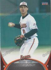 2016 Bowie Baysox Drew Dosch RC Rookie Baltimore Orioles Minor League