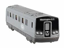 Washington DC Metro Diecast Subway Car HO Size Car model with light & sound 7.5""