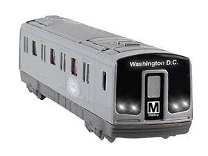 "Washington DC Metro Diecast Subway Car HO Size Car model with light & sound 7.5"""