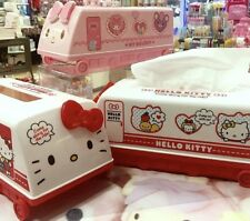 One 2018 New Sanrio HELLO KITTY or MY MELODY tissue box cover buses