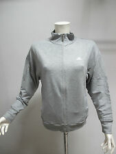 ADIDAS felpa donna con zip art.LP LUREX D04389 col.GRIGIO MEL. tg.46 estate 2014
