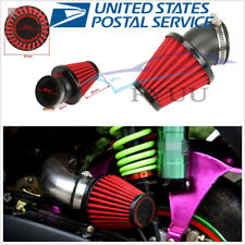 "High Quality 48mm 45° Bent Motorcycle 3"" KN Cold Air Intake Filter Kit"