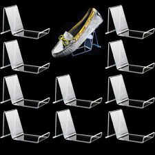 10x Sneaker Sandal Shoe Store Display Stand Show Rack Holder Retail Store Clear