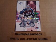 Patrick Roy 2002-03 Upper Deck SPX #84 Hockey Card Colorado Avalanche NM