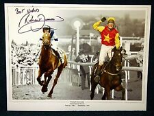 Richard Dunwoody, West Tip, Minnehoma Signed Photo