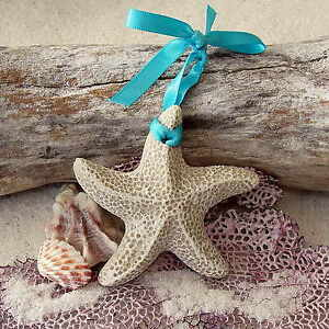 STARFISH Made with Sand Tropical Beach Ornament