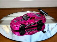 MUSCLE MACHINES TUNERS 97 MAZDA RX7 DIE CAST CAR 1/64 1997 PINK