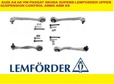 AUDI A4 A6 VW Passat Skoda Superb LEMFORDER UPPER SUSPENSION CONTROL ARMS ARM x4