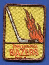"Philadelphia Blazers Wha 2 3/4"" x 3 3/4"" Embroidered Patch - 13162"