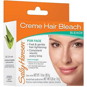 Sally Hansen Creme Hair Bleach For Face, Hair Lightening Bleach
