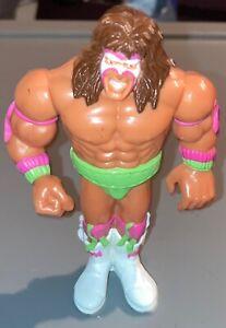 1990 Hasbro WWF the Ultimate Warrior wrestling figure-series 1
