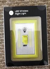 Ijoy Led Wireless Night Light Yellow