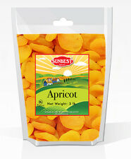 SUNBEST Jumbo Dried Apricots #1 (Turkish) 3 Lbs in Resealable Bag (48 Oz)