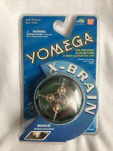 Vintage 1999 Yomega X-brain Yo-yo GREEN 4way Clutch Bandai * IN PLASTIC