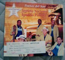 Poetas del Son by Septeto Nacional de Ignacio Pi€eiro (CD, Jan-2003, Le Chant...