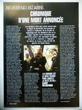 COUPURE DE PRESSE-CLIPPING :  REVEREND BIZARRE  01/2004 Albert Witchfinder