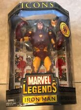 "Marvel Legends Icons 12"" Iron Man Figure NEW factory sealed"