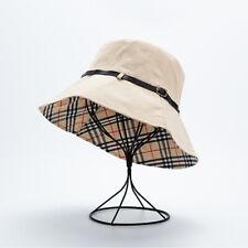 Ladies Elegant Bucket Hats Cotton Retro Bush Sun Hat for Summer Casual Outdoor