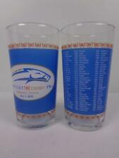 2010 Kentucky Derby Mint Julep Glass Lot of 2 Glasses 136th Running