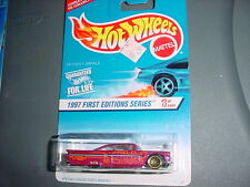 HOT WHEELS #517 '59 CHEVY IMPALA WITH WIRE SPOKE RIMS FREE USA SHIPPING