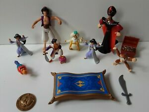 Disney Aladdin, Jasmine, magic carpet Figure Bundle - Toys (350)