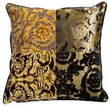 "Versace Barocco Patchwork Pillow - 23.5"" x 23.5"""