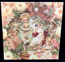 Jigsaw Puzzle 500 Piece Springbok Loves Dream Cherub Angels Woman Rose Garden