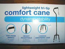 NIB NEW RITE AID Tri-Tip Comfort Cane Dynamic Stability Shock Absorbing Walk